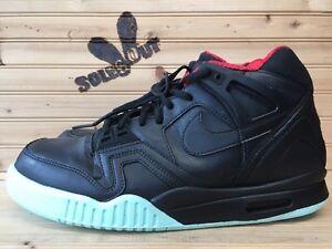 Custom-Nike-Air-Tech-Challenge-II-2-sz-11-Solar-Red-Black-Yeezy-Angelus-DT