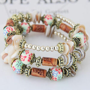 Bracelets-Beads-Bangles-Woman-Colorful-Jewelry-Multilayer-Boho-Beach-Wristband