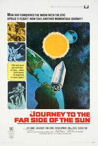 Original-1960s-SciFi-Film-Poster-Journey-To-The-Moon-Lot-265