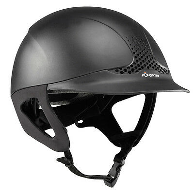 Adults horse riding helmet hat Black Brown Ventilated english and western adjust
