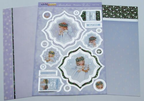 Hunkydory 3 x Angel/'s Wings Christmas Toppers /& Card Kit