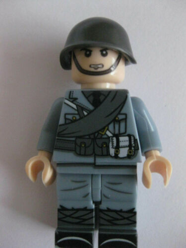 Cobi Army WW2 Military Custom Blocks 10 Italian Army Mini Figures Lego