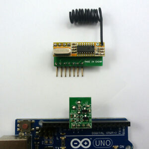 Details about ARDUINO Sample Code DIY RF Wireless Remote Control with  Arduino PT2262 Encoder