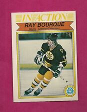 1982-83 OPC # 24  BRUINS RAY BOURQUE IN ACTION EX-MT CARD (INV#7012)