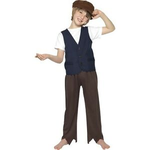 CLEARANCE-Boys-Victorian-Poor-Peasant-Urchin-Fancy-Dress-Costume