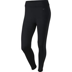 fit xl negros Pantalones Nike de mujer talla 620396 Dri para 010 entrenamiento Knit XwZXgq