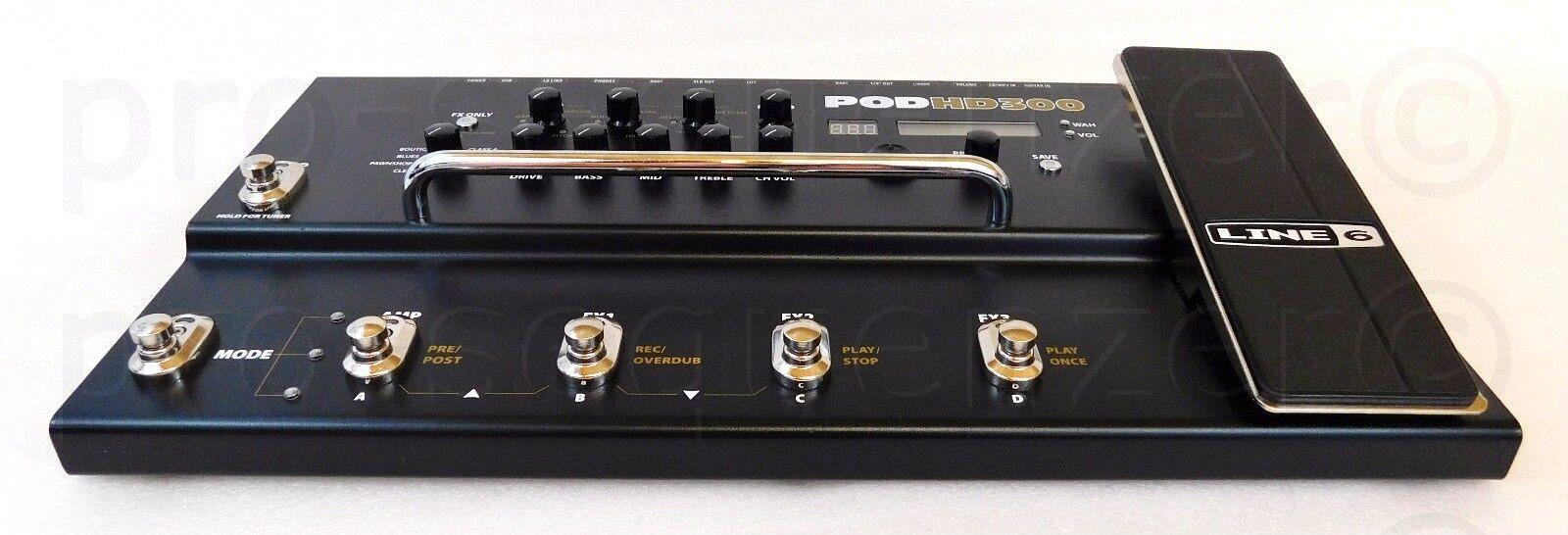 Line 6 Pod HD300 Guitar Modeling Processor Preamp + Top Zustand + Garantie