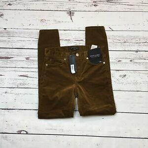 Banana-Republic-Skinny-Ankle-Cords-Size-25-NEW-Corduroy-Pants-Stretch-Women-039-s