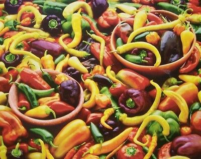 Jigsaw puzzle Munchies Mixed Chili Peppers 1000 piece NEW