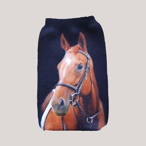 Horse-Universal-mobile-phone-sock-case-cover-holder-pouch