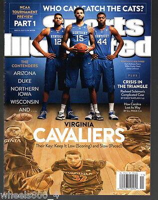 Sports Illustrated 2015 Kentucky Virginia Duke Arizona N.Iowa Wisconsin  NR/M