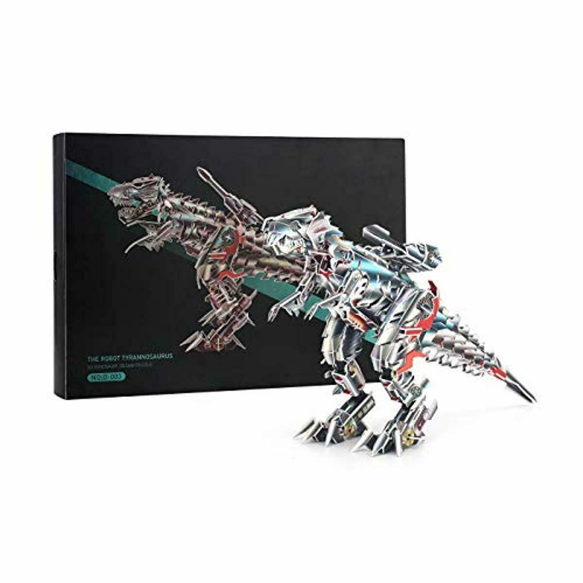 Jigsaw Puzzles Dinosaur 3D Puzzle Series Tyrannosaurus for Kids and Adults