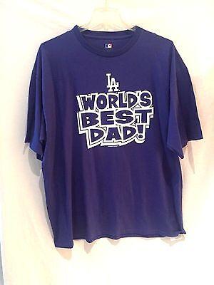 Weitere Ballsportarten Kompetent Los Angeles Dodgers T-shirt-mlb Tru Blau 4 Your #1 Dad-2xl-fan Freundliche Price Baseball & Softball