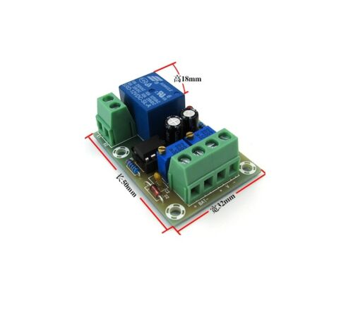 Smart Battery Charger Power Relay Control Board DC12V Automatic Control Board CA