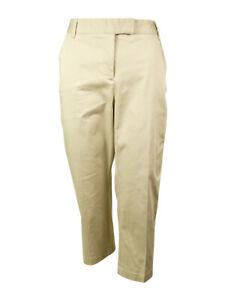 Charter-Club-Women-039-s-Flat-Front-Capri-Pants