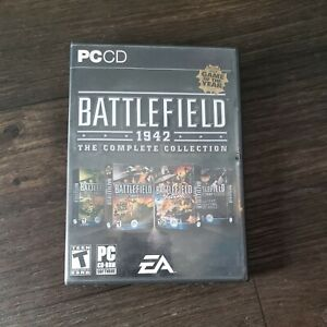 2005 BATTLEFIELD 1942 The Complete Collection PC CD-ROM Game 8 Disc set
