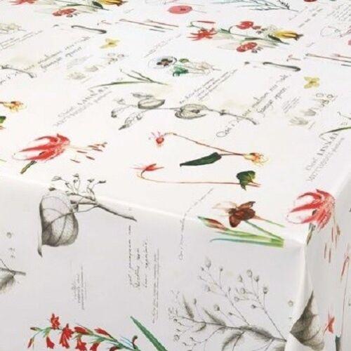 Wachstuch Tischdecke eckig rund oval abwaschbar Blumen floral K-OZ8044