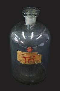 Alte Flasche Apotheke Glasflasche Glas old vintage Deko Chemie Unterricht