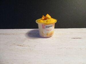 Casa de muñecas en miniatura Bubble Gum tinas de helado