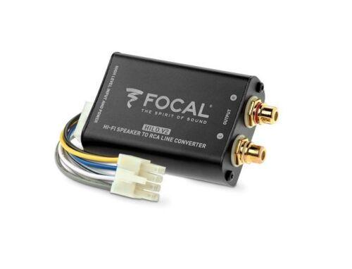 Klemmen & Verkabelung Focal Hi-Lo V2 High-Low Adapter Auto ...