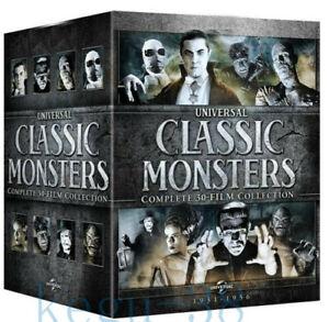 Universal-Clasico-monstruos-completa-30-Film-Collection-21-Dvd-Box-Set-Nuevo-Sellado