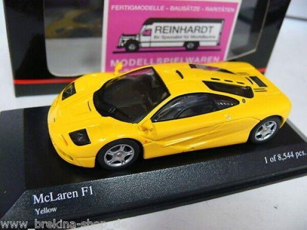 1 43 Minichamps MB McLaren f1 jaune