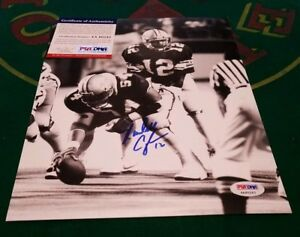 Randall-Cunningham-Signed-UNLV-Rebels-8x10-Photo-PSA-COA
