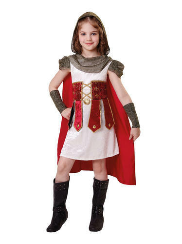 Bambini Principessa Romana Costume Bambino Bambina Outfit 3-5 anni