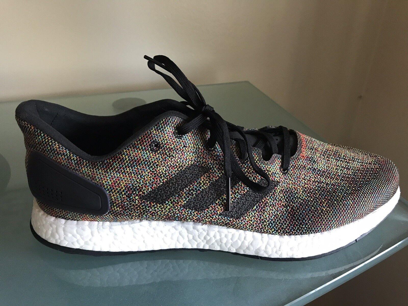 New  169 Size 11.5 11.5 11.5 Adidas PureBoost DPR LTD Black Crystalwhite Rainbow CG2993 78bc54