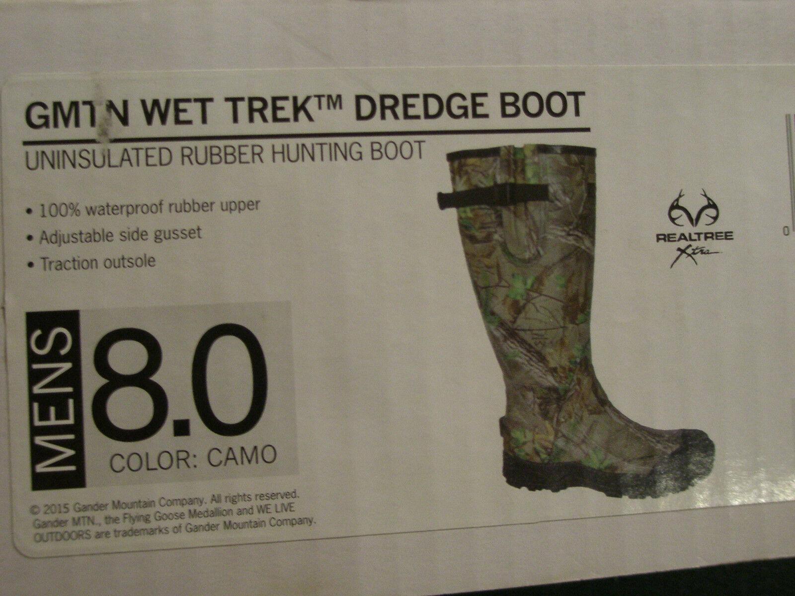 Gander Mountain Wet  Trek Draga botas De-Para Hombre Talla 8  Venta al por mayor barato y de alta calidad.