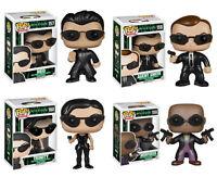The Matrix Pop Vinyl Figures Funko Neo Morpheus Agent Smith Trinity - SALE PRICE
