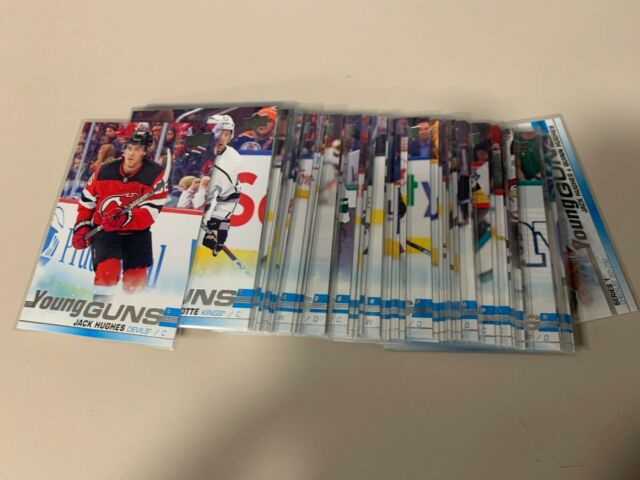2019-20 Upper Deck Series 1 near complete set with Young guns cards missing #249