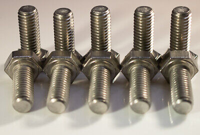 M10 X 1.50 X 65mm Stainless steel hex head metric 10pcs