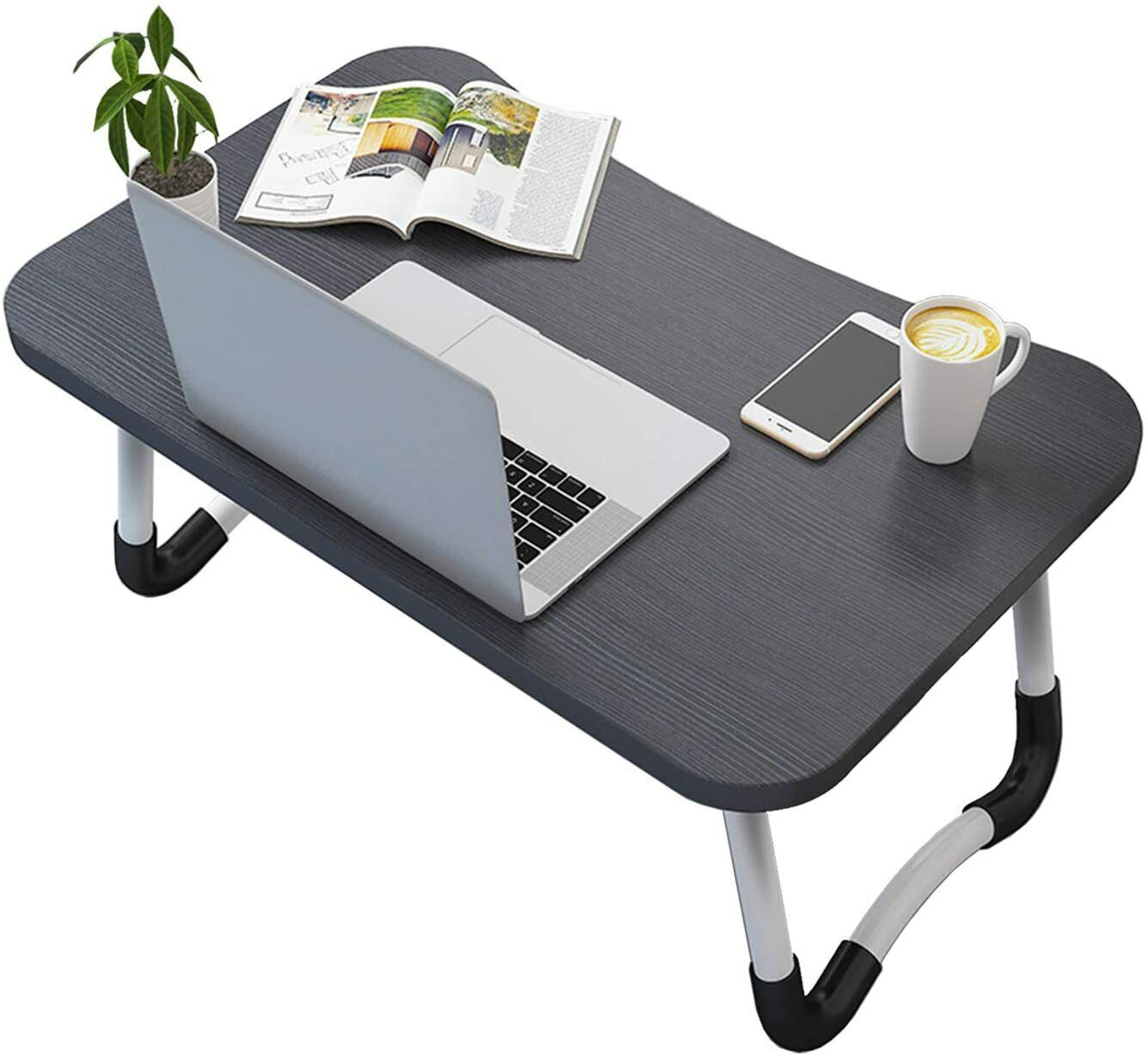 Mesa Ordenador Portátil Plegable bandeja Cama Bandeja Desayuno color Aleatorio
