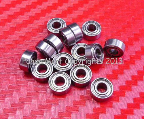 Free Shipping Metric Shielded Ball Bearing 2.5*6*2.6 10pc 682XZZ 2.5x6x2.6mm