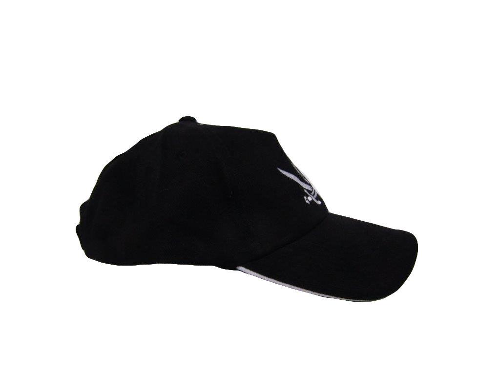 Black Calico Jack Rackham Surrender The Booty Pirate Baseball Cap Hat RUF