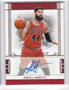 2016-17-Nikola-Mirotic-25-Auto-Panini-National-Tresures-Autographs-Penmanship