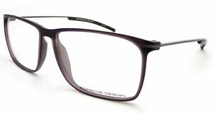 PORSCHE-DESIGN-Glasses-Frame-Matte-Brown-57mm-Men-039-s-P8296-D
