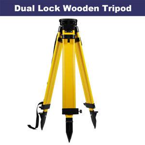 Heavy-Duty-Total-Station-Theodolite-Wood-Tripod-for-Sokkia-Trimble-Topcon-Leica