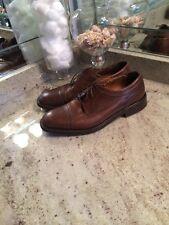 Florsheim Imperial Mens Brown Cap Toe Dress Shoe Size 10 1/2 D