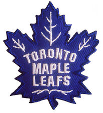 NHL Toronto Maple Leafs Logo embroidered iron on patch. 3 x 3 3/8 inch (IB27)