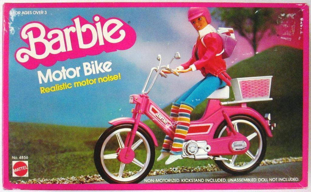 Barbie Motor Bicicleta 1983 (nuevo)