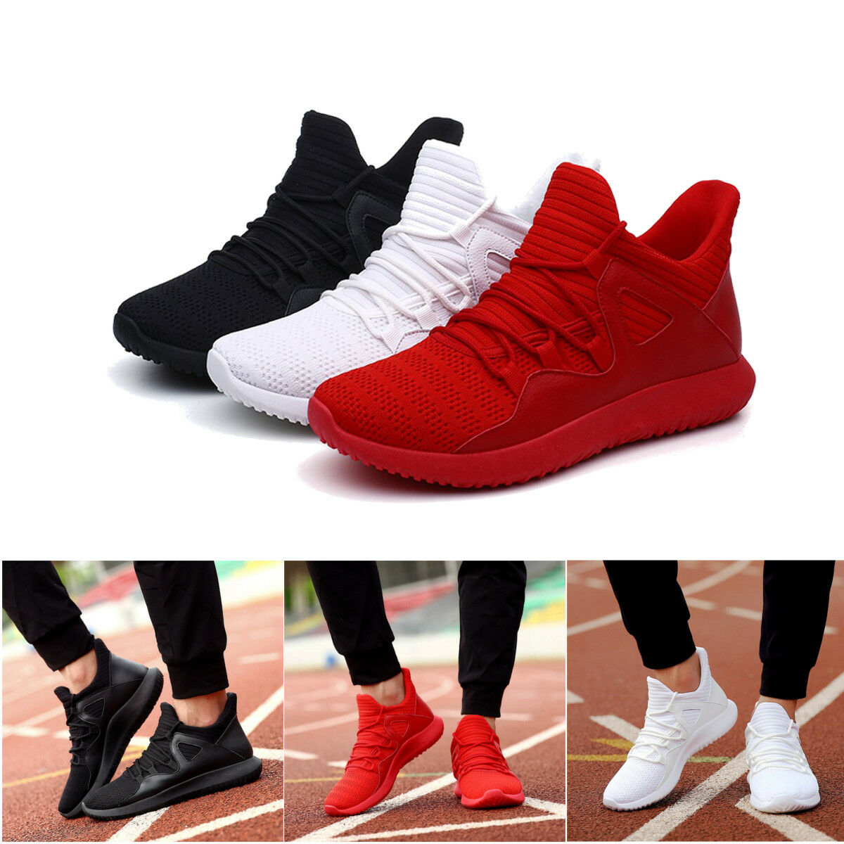 Homme Casual Sport Running Trainers Baskets Chaussure Outdoor Confort Chaussures