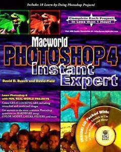 PHOTOSHOP-4-INSTANT-EXPERT-by-Field-Busch-1996-Macworld-NEW