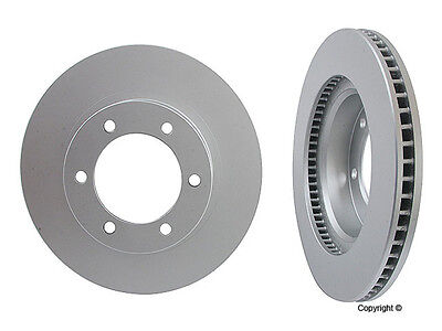 "4-Meyle GEOMET Anti Rust Coated 2-Front /& 2-Rear Rotors For Touareg w// 17/""wheels"