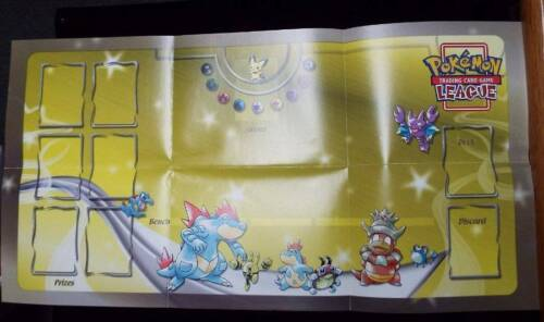 Pokemon Ultra Rare Neo Genesis Playmat Pokemon League WOTC Collectible