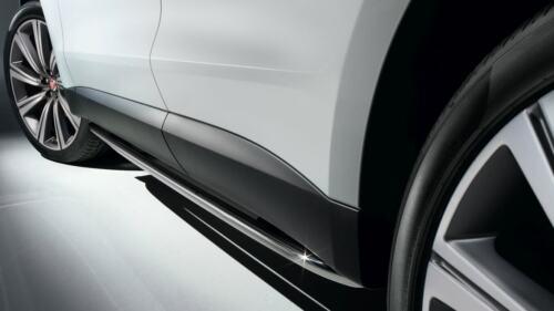NEW Genuine Jaguar F-Pace Bright Side Tubes T4A13311