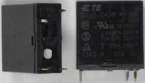 2-x-TE-Connectivity-SDT-S-124LMR-SPST-NO-Relay-24VDC-Coil-10A-250VAC-PCB