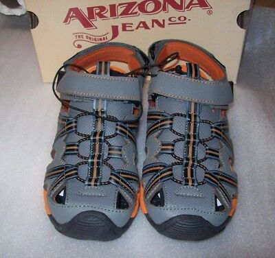 BOYS ARIZONA LITTLE BIG KIDS CAMDEN STRAP SANDALS NEW IN BOX MSRP$35.00