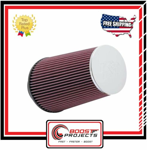 K/&N Round Tapered Universal Chrome Filter RC-3690 *